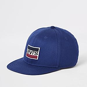Levi's – Casquette bleue à logo pour garçon