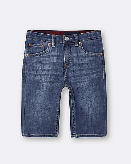 Boys blue Levi's shorts