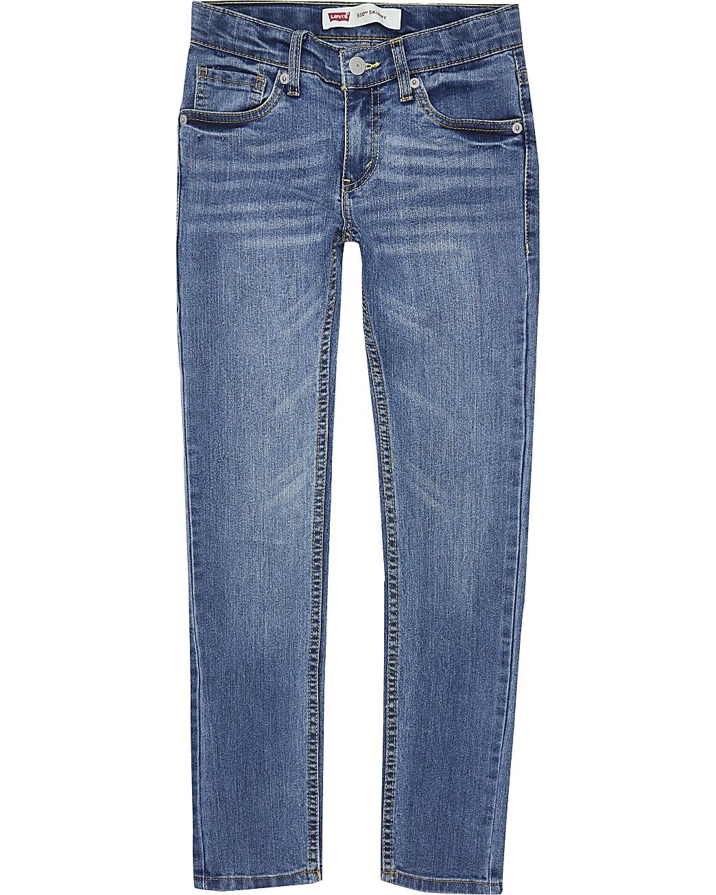 Boys blue Levi's skinny fit jeans
