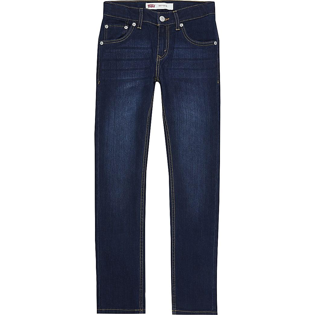 Boys blue Levi's slim fit jeans