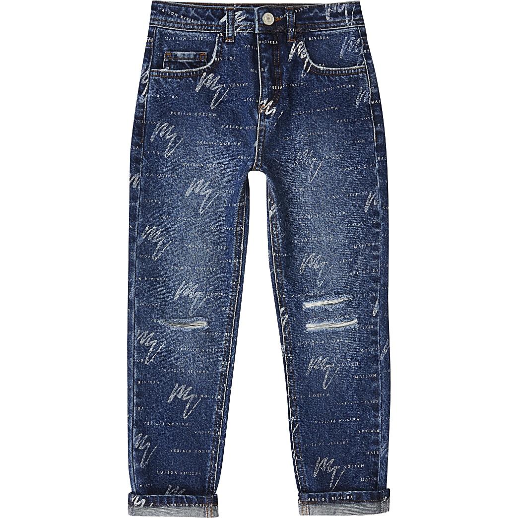 Boys blue Maison Riviera jeans