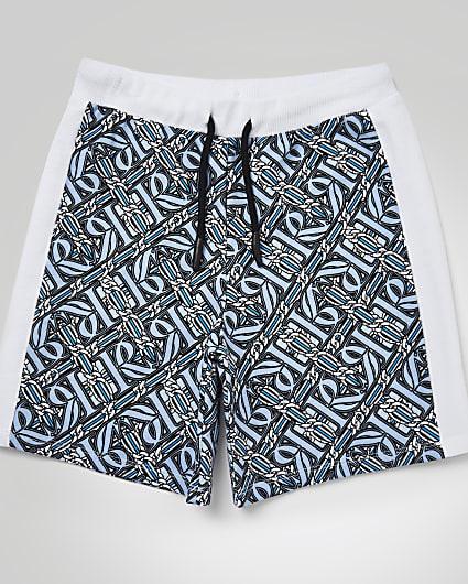 Boys blue Maison Riviera t-shirt outfit