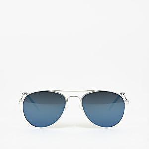 Blaue, verspiegelte Pilotensonnenbrille für Jungen