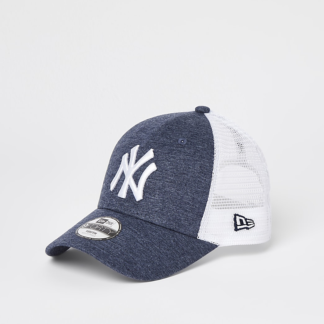 Boys blue New Era NY cap