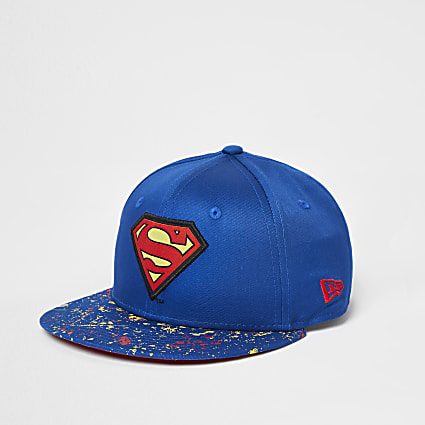 Boys blue New Era Superman cap