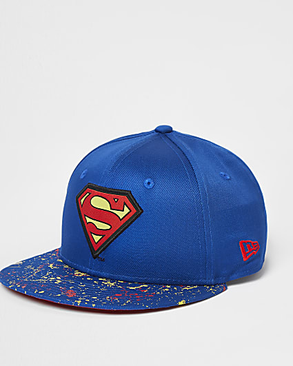 Boys blue New Era Superman cap