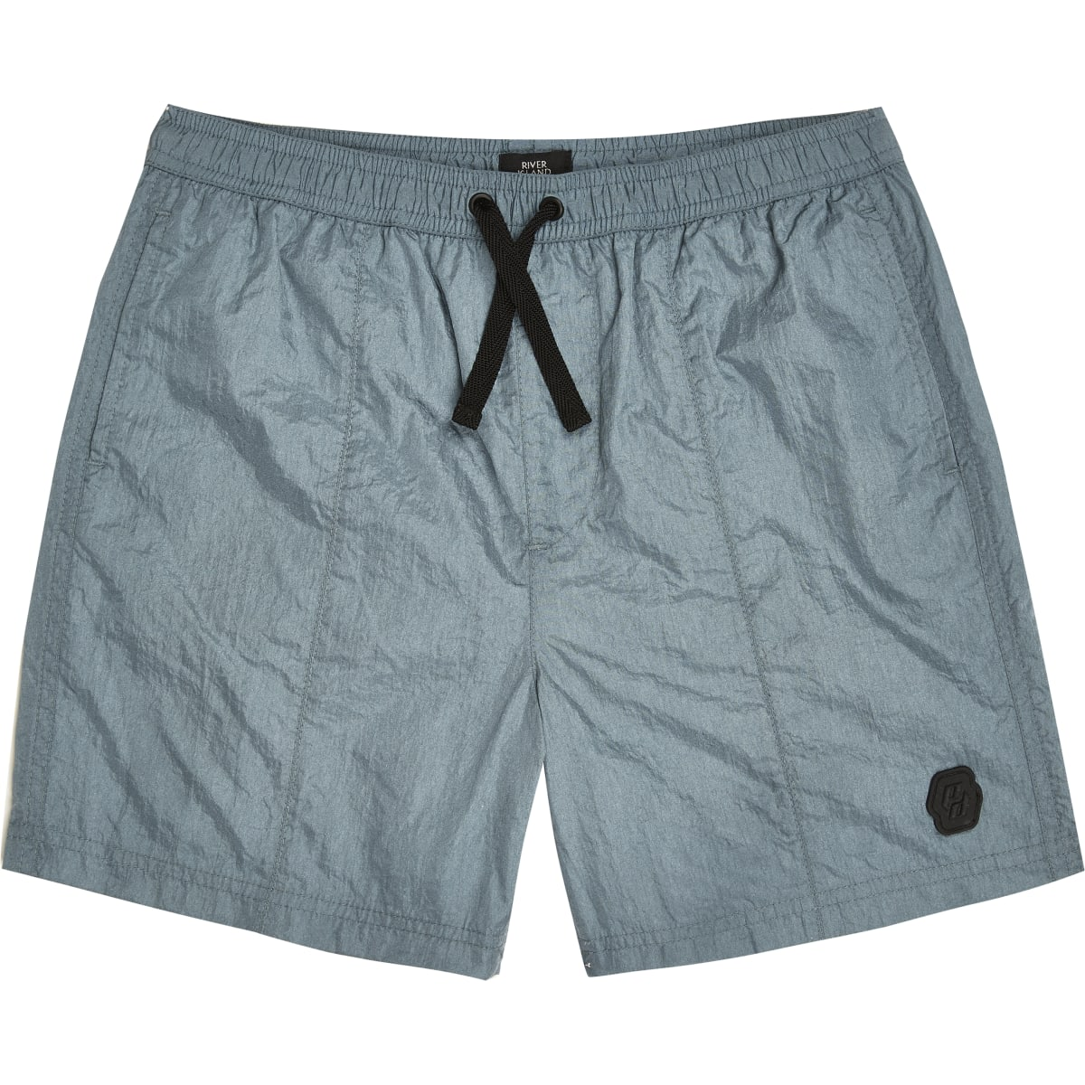 Boys blue nylon shorts