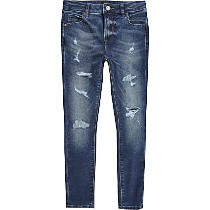 Boys blue ollie skinny jeans