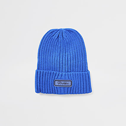 Boys blue prolific beanie hat