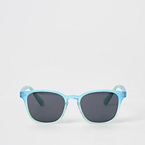 Blaue Retro-Sonnenbrille