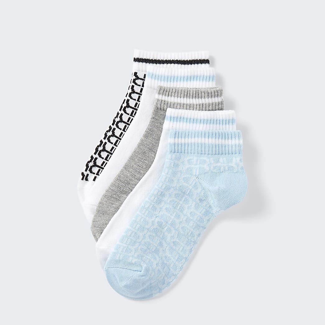 Boys blue RI socks 5 pack
