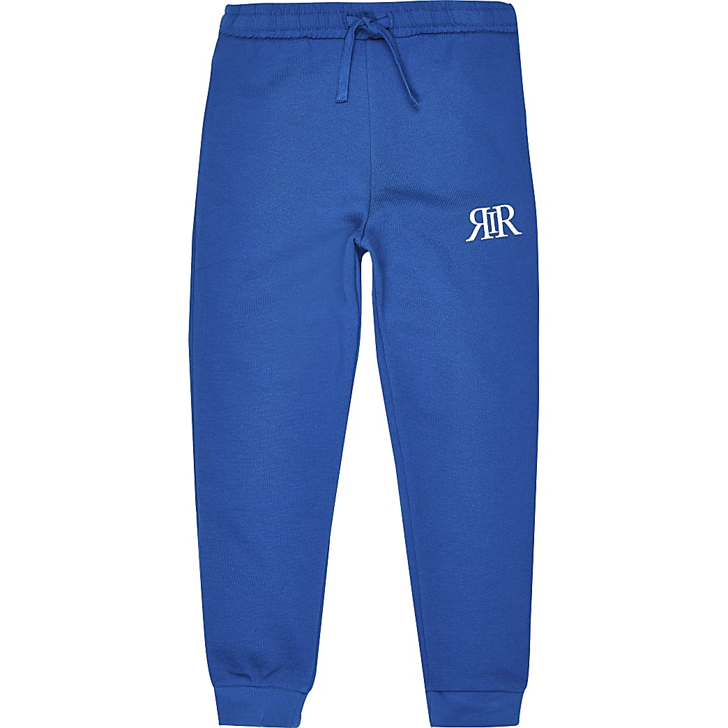 Boys blue RIR joggers