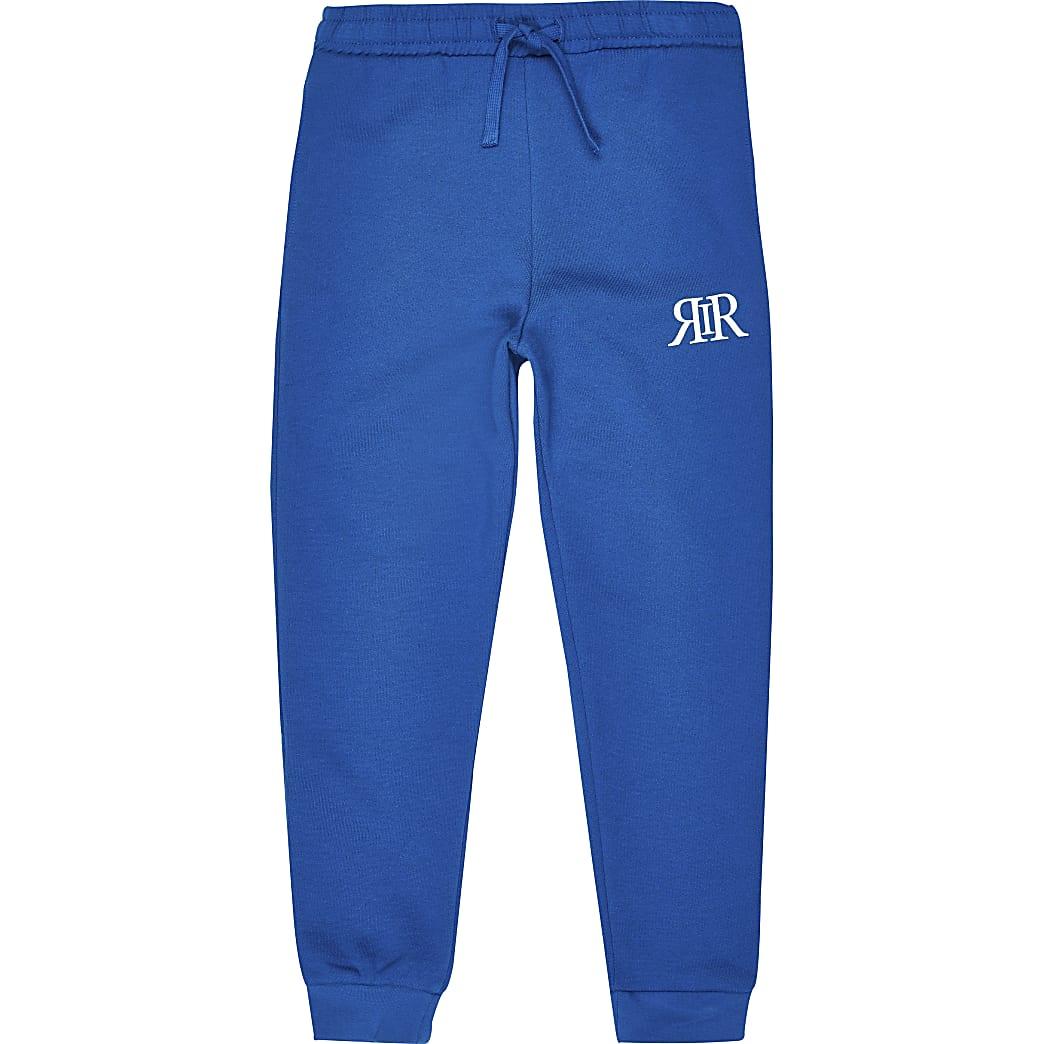 Boys blue RIR joggers