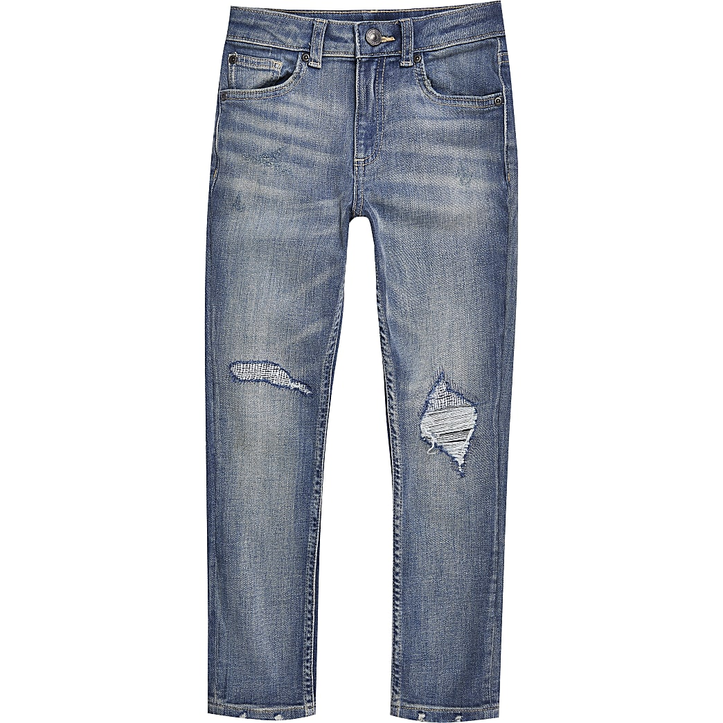 Boys blue Sid skinny fit jeans