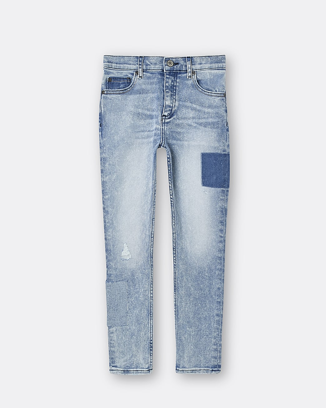 Boys blue slim fit jeans