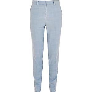Blauwe slim-fit pantalon voor jongens