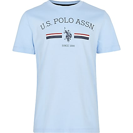Boys blue 'U.S. Polo Assn' t-shirt
