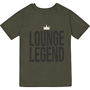 Liefdadigheids-T-shirt voor jongens 'Lounge Legend'