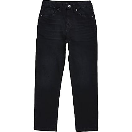 Boys dark blue Jake regular fit jeans