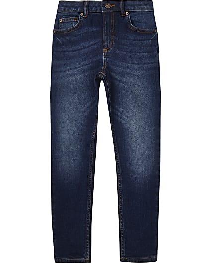 Boys dark blue skinny jeans
