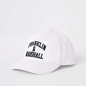 Franklin & Marshall – Weiße Kappe
