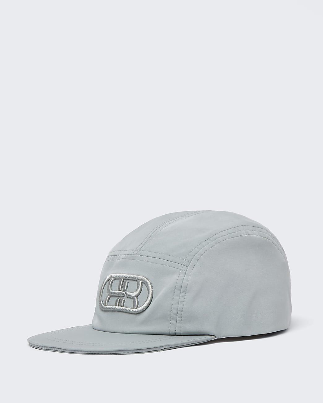 Boys green RI nylon cap