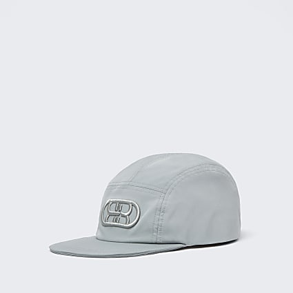 Boys green RI nylon cap
