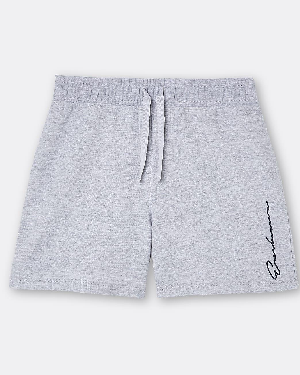 Boys grey 'Exclusive' shorts