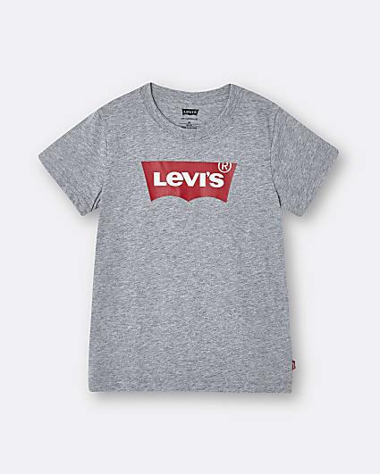Boys grey Levi's short sleeve t-shirt