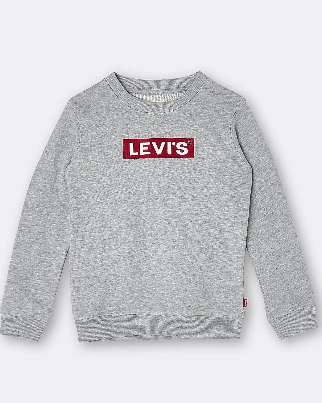 Boys grey Levi's sweatshirt
