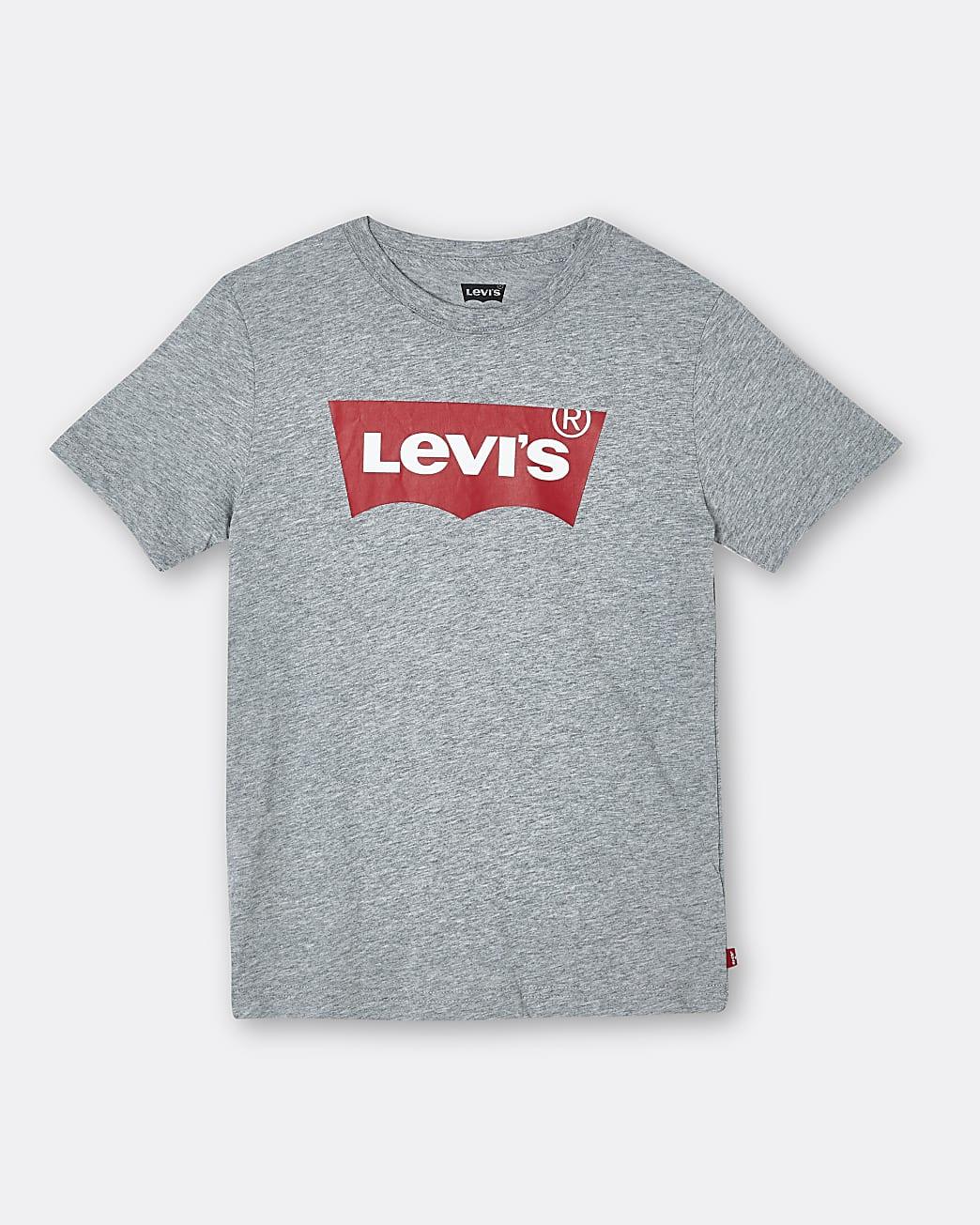 Boys grey Levi's t-shirt
