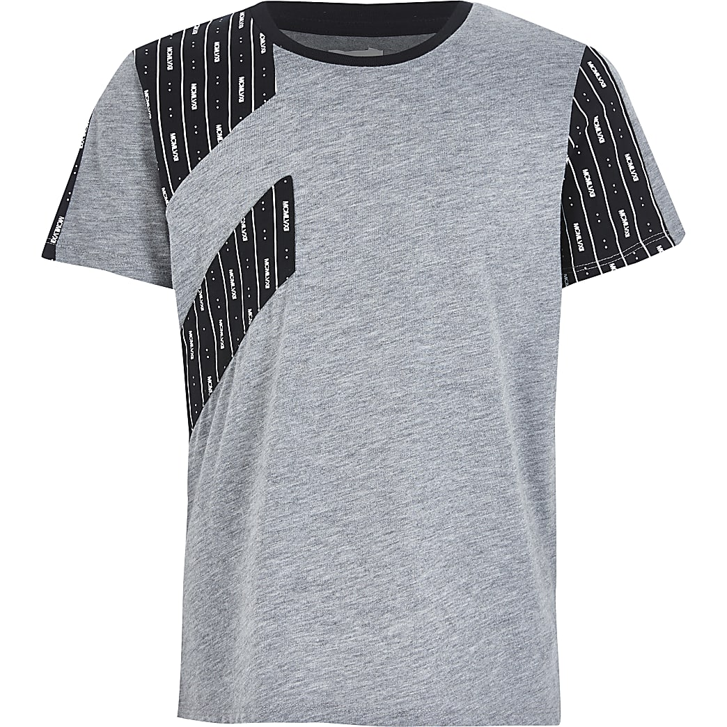 Boys grey MCMLVXII RI Active T-shirt