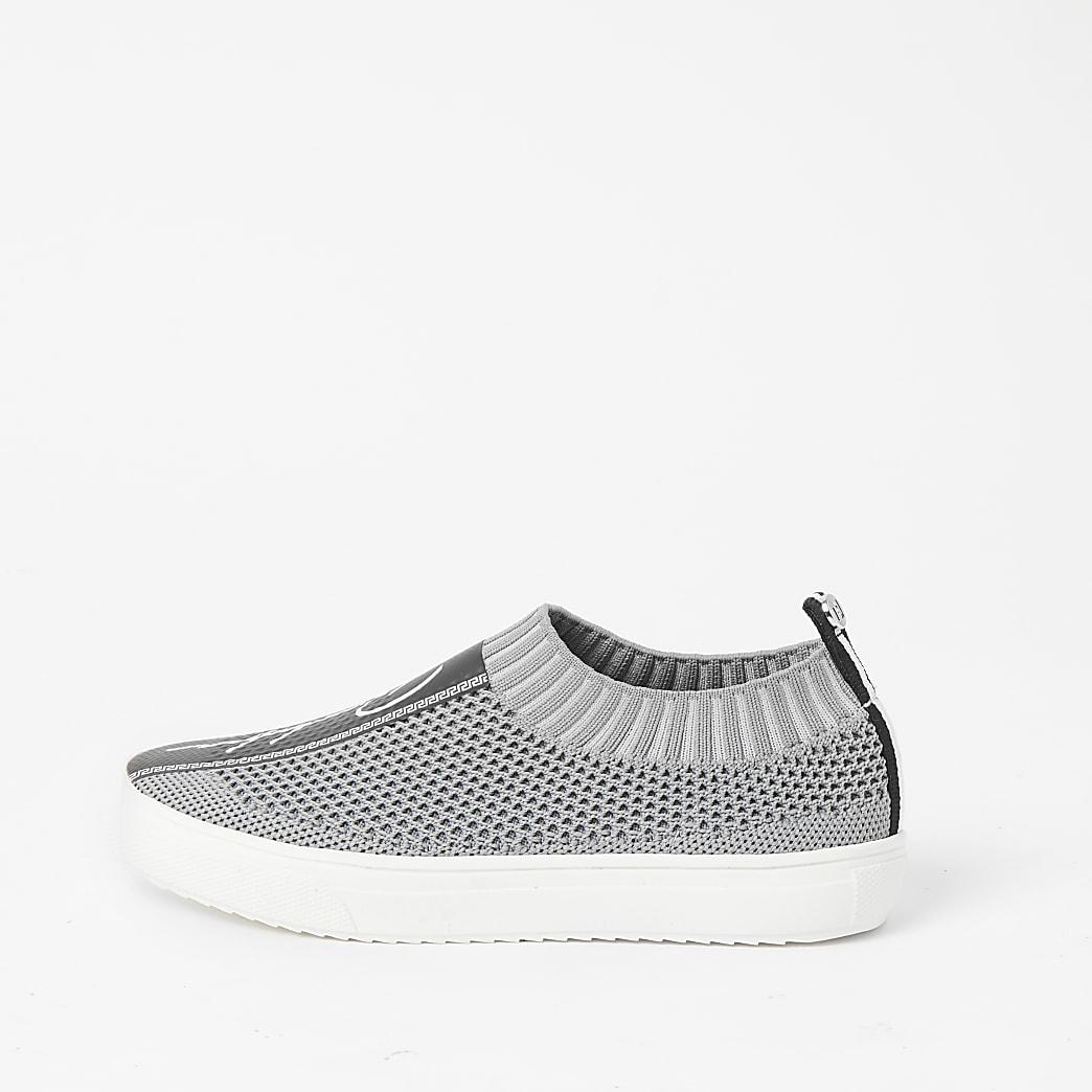 Prolific – Graue Strick-Sneaker für Jungen