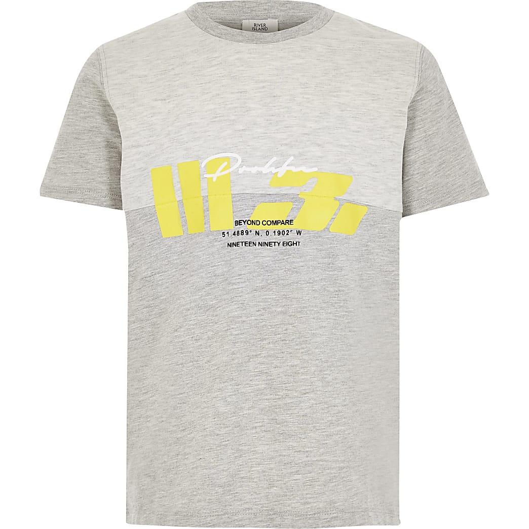 Prolific - Grijs T-shirt met print voor jongens
