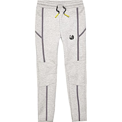 Boys grey RI Active slim joggers