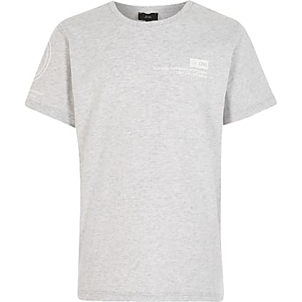 Boys grey RI one t-shirt