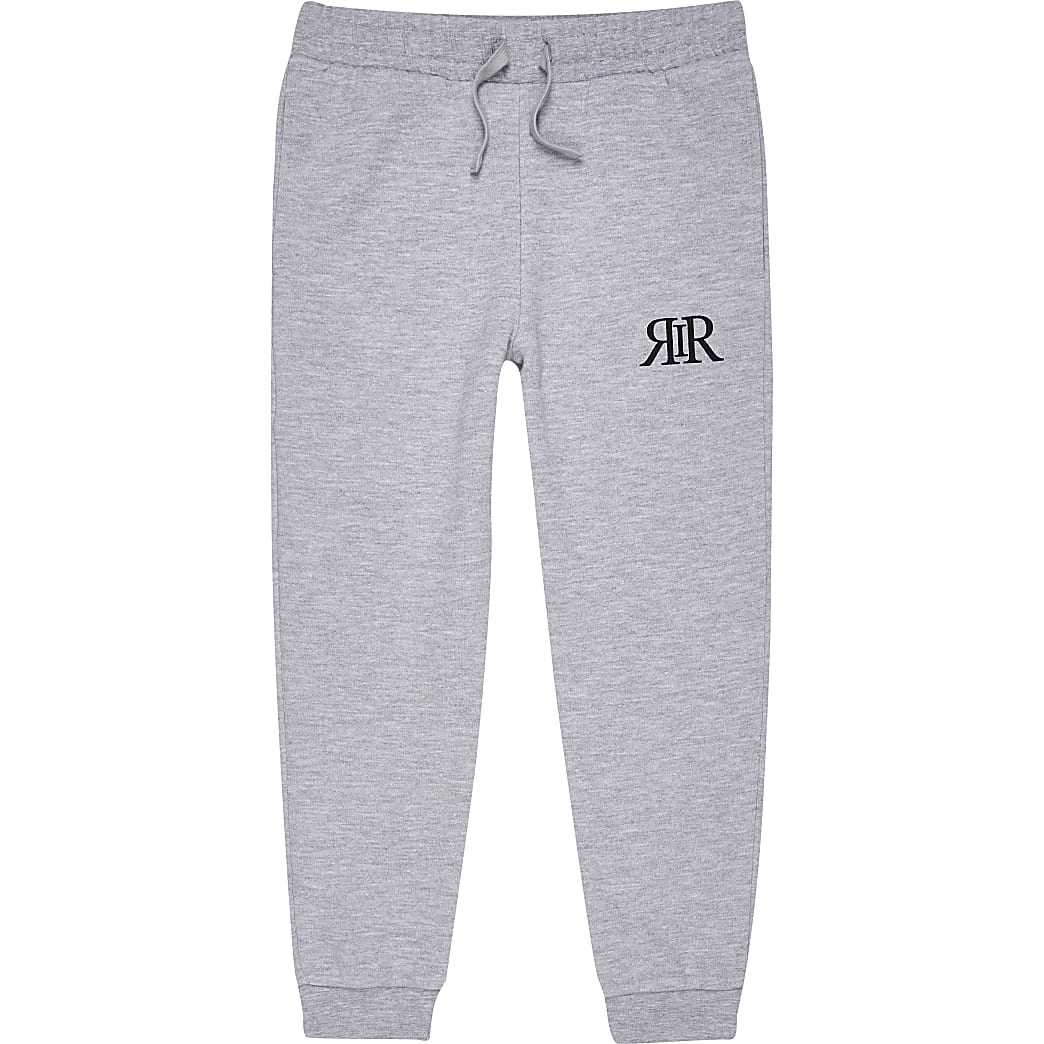 Boys grey RIR Joggers
