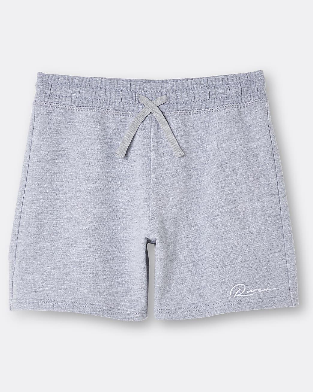 Boys grey River shorts