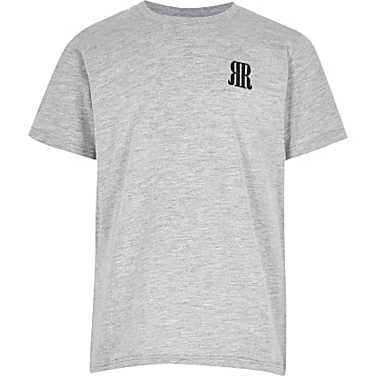 Boys grey RR t-shirt