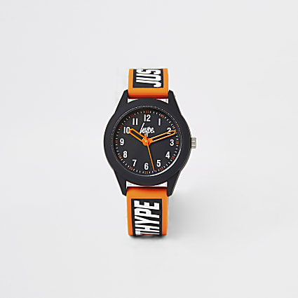 Boys Hype black colour pop watch