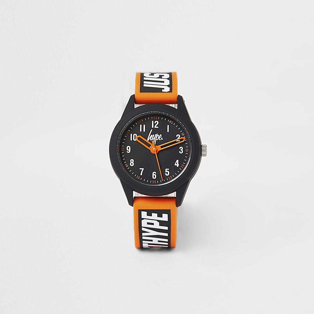 Boys Hype black colour pop watch