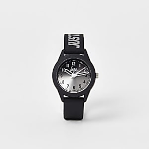 Boys Hype black ombre face watch