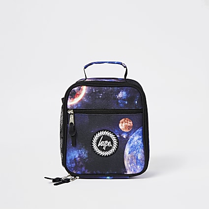 Boys Hype Black space lunch box