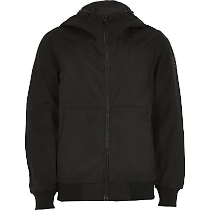 Boys Jack and Jones black jacket