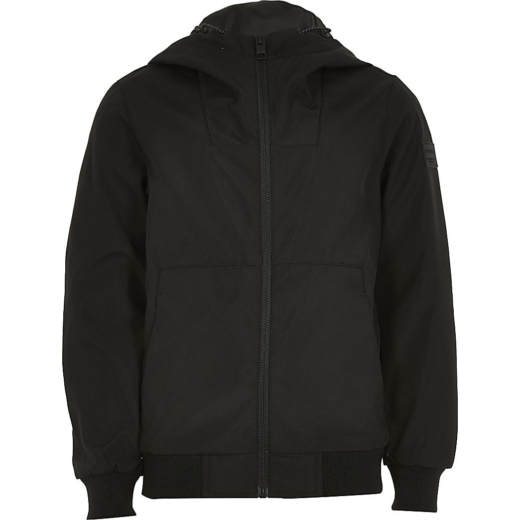 Boys Jack and Jones black jacket