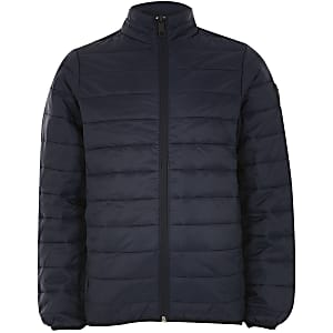 Jack and Jones – Marineblaue Steppjacke