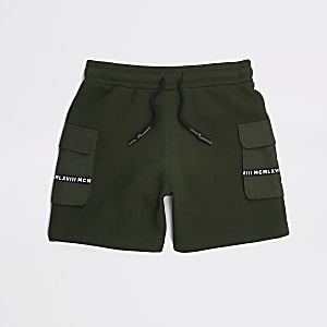 Utility-Shorts in Khaki für Jungen