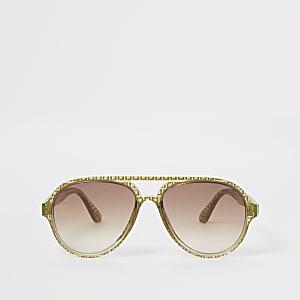 RI – Pilotensonnenbrille in Khaki für Jungen