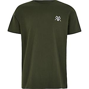 RVR-T-Shirt in Khaki für Jungen