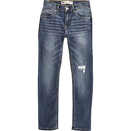 Boys Levi's blue 510 skinny jeans